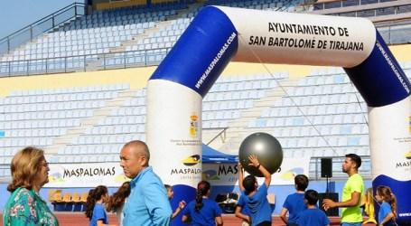 Más de 300 escolares de Maspalomas disfrutan del deporte sin competición