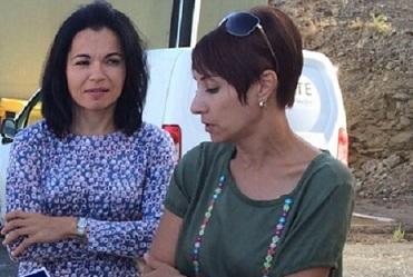 Onalia Bueno (dcha) e Isabel Santiago