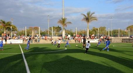 Más de treinta equipos en el Torneo de Fútbol 8 base de Maspalomas