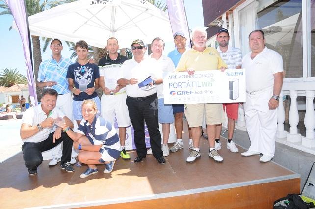 VI Torneo eó Suite Hotel Jardin Dorado, participantes