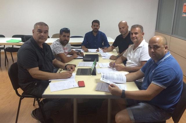 Policía Local de Canarias, representantes en Vecindario