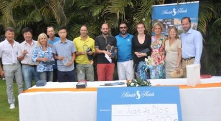 Seaside Hotels impulsa un año más el exitoso Torneo Benéfico de Golf en Maspalomas