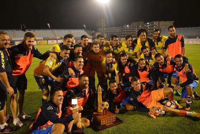 UD Las Palmas, campeón del 31º Torneo de Fútbol de Maspalomas