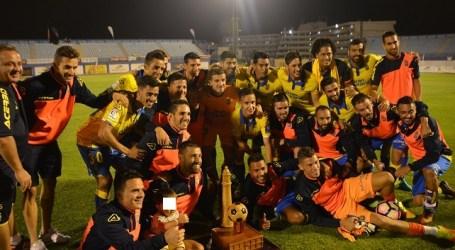 La UD Las Palmas gana el Torneo de Maspalomas con un gol de Míchel