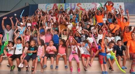Diplomas y una fiesta clausuran el Campus Deportivo de Verano de Santa Lucía
