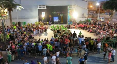 Once batucadas llenan de ritmo Vecindario con la V Percumúsica Solidario