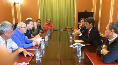 El delegado del Gobierno trasladará a Fomento la propuesta del Foro Roque Aldeano