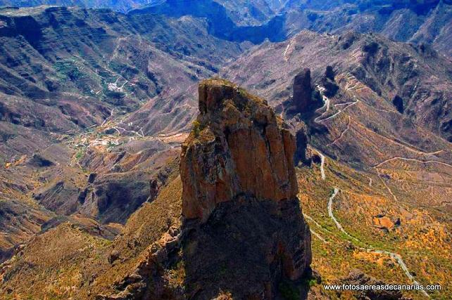 Roque Bentaiga, en Tejeda, Gran Canaria