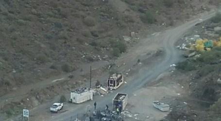 """Nueva Canarias en Mogán satisfecha por el cierre del vertedero """"ilegal"""" de Balito"""