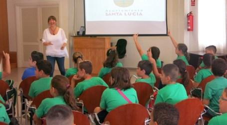 Escolares del CEIP Tagoror conoce cómo funciona el Ayuntamiento en una visita guiada
