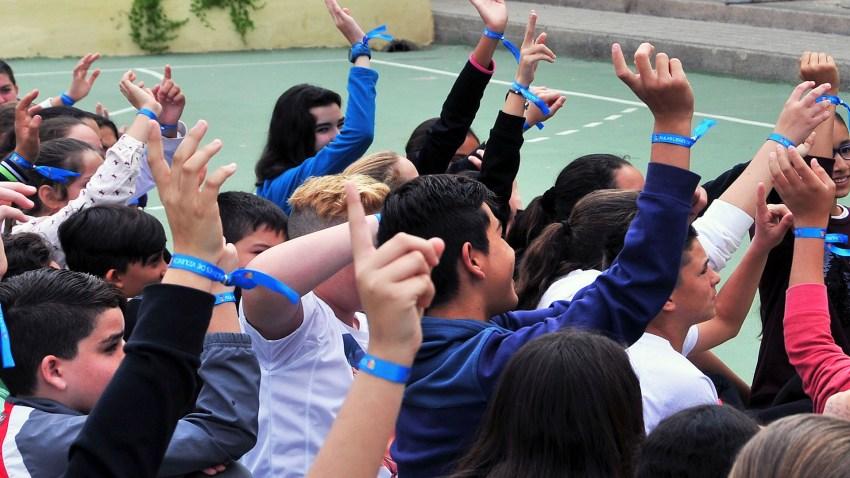 Maspalomas contra la violencia y el acoso escolar