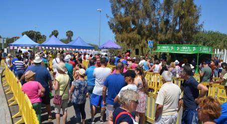 El Pajar congregó a miles de personas en el popular asadero de fin de fiestas