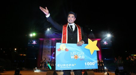 John Raspado, Mr. Gay Filipinas, es el nuevo Mr. Gay World 2017