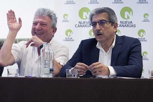 Román Rodríguez y Pedro Quevedo