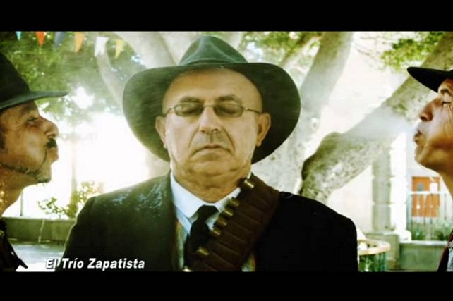 Ramón Araujo, Trío Zapatista