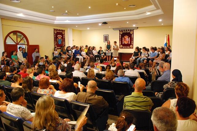 Salón de plenos de Mogán