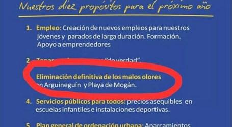 """El PP recuerda a Bueno los cubos de """"¿apesta?"""" y NC su propuesta de mejora del saneamiento"""