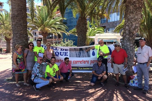Foro Roque Aldeano en Las Canteras, julio 2017