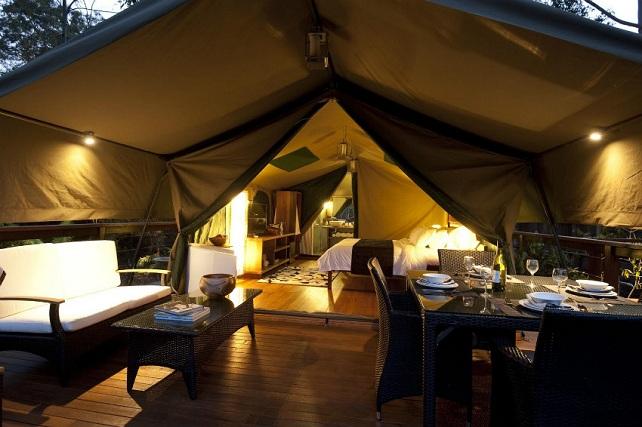 Camping de lujo 5 estrellas