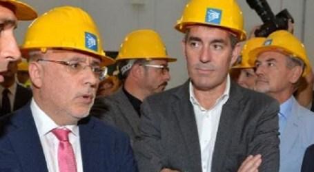 Fernando Clavijo (dcha) y Antonio Morales