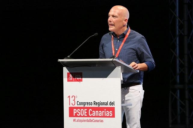 Julio Ojeda, XIII Congreso Regional del PSC-PSOE