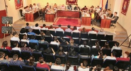 El Pleno Juvenil aprueba por unanimidad suspender las clases en caso de alerta por altas temperaturas
