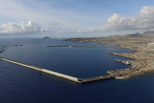 Puerto de Granadilla, en Tenerife