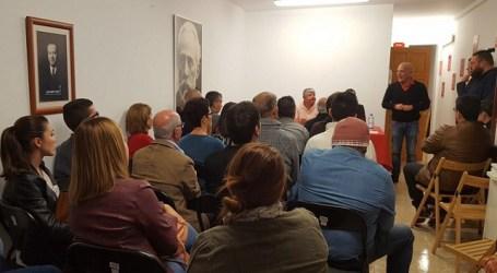 Julio Ojeda es elegido secretario general de la Agrupación Socialista de Santa Lucía