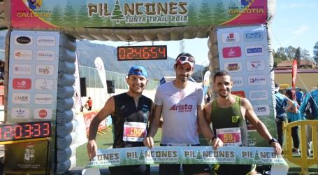 Alejandro Fraguela y Roberto Cruz, ganadores de la II Pilancones Tunte Trail