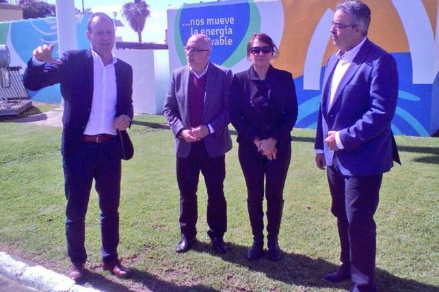 Alcaldes con el presidente del Cabildo