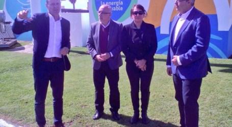 La Mancomunidad del Sureste instala cuatro puntos de recarga que se alimentarán de solar y eólica