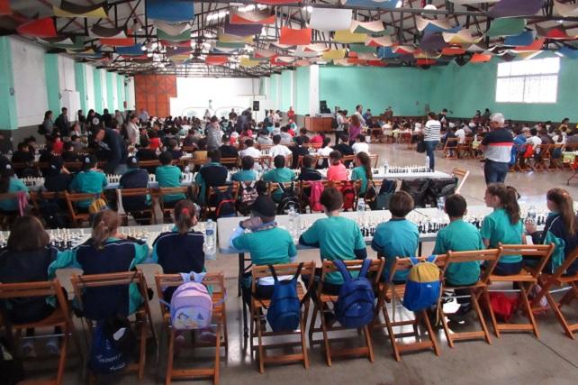 Encuentro Escolar de Ajedrez en Santa Lucía