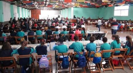 Más de 300 niños y niñas participan en el VII Encuentro Escolar de Ajedrez de Santa Lucía