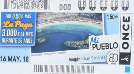 El municipio grancanario de Mogán protagoniza 5,5 millones de cupones de la ONCE
