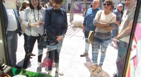 La muestra de fotos antiguas en los escaparates abre el programa del Día de Canarias