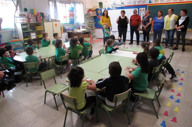 Huerto escolar del CEIP Tagoror