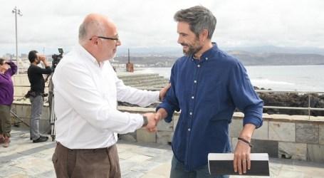 """El rodaje simultáneo de tres largometrajes en Gran Canaria evidencia que """"es un buen momento para la industria audiovisual"""""""