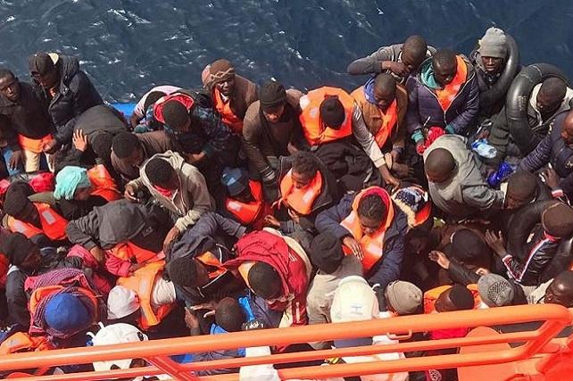 Inmigrantes, rescate
