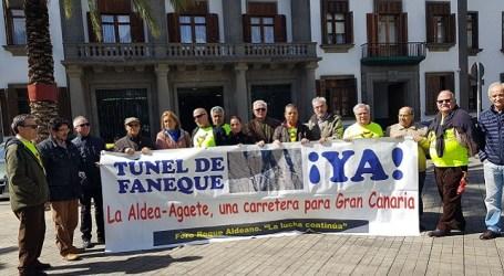 Roque Aldeano teme que el retraso del convenio de carreteras suspenda la adjudicación del Risco-Agaete