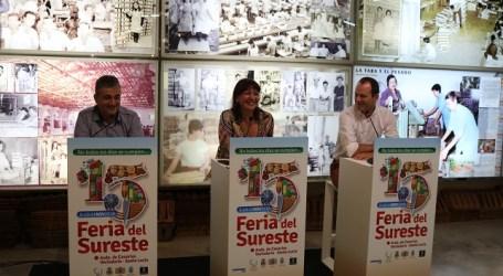 Más de 150 representantes del sector primario exponen sus productos en la XV Feria del Sureste