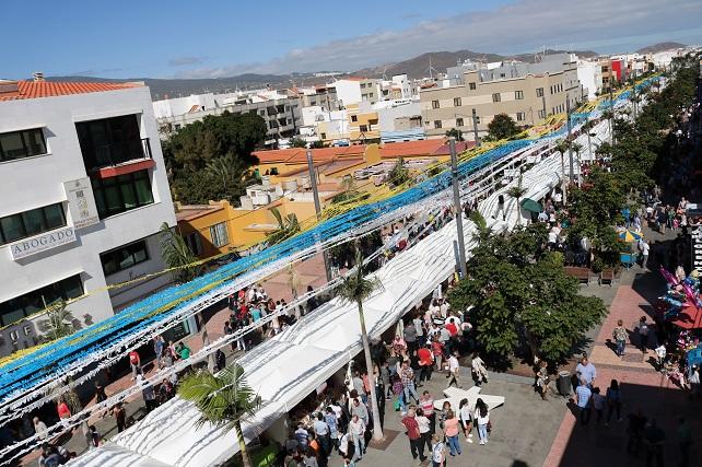 Feria del Sureste 2018, Avenida de Canarias de Vecindario