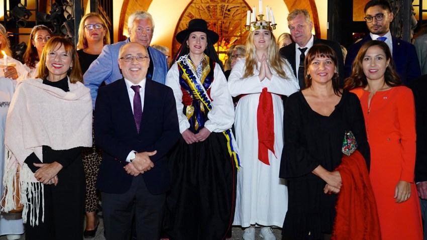 Lucía Sueca y Lucía Canaria, coronación