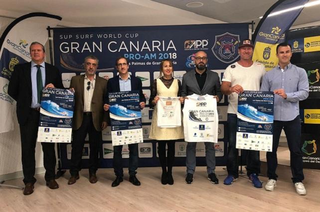 SUP Surf World Cup Gran Canaria