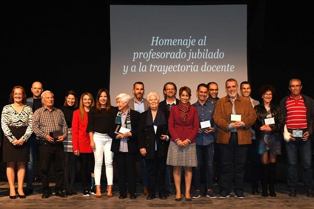 Homenaje a docentes de Mogán