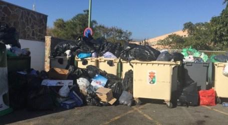 Los trabajadores de recogida de basura en Mogán comunican sus reivindicaciones a las licitadoras del concurso