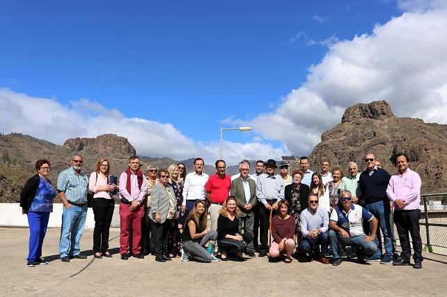 Homenaje a Juan Ramírez Betancor en la presa de Soria