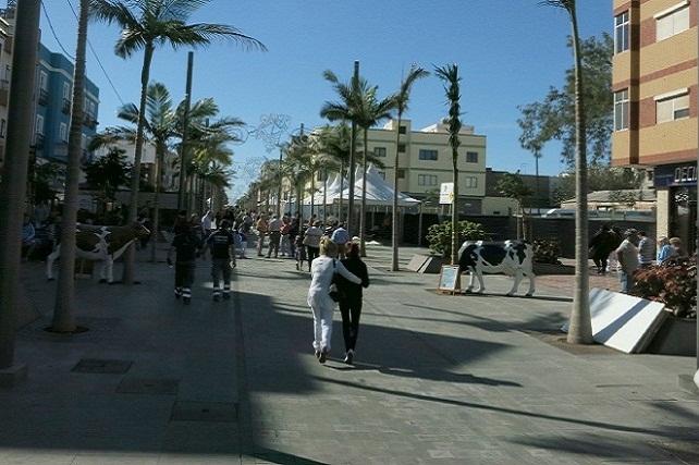 ZCA de la Avenida de Canarias, peatonal