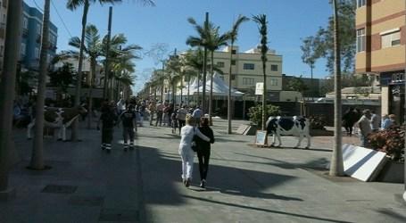 JxGC Santa Lucía propone una apertura parcial de la zona peatonal de la Avenida de Canarias