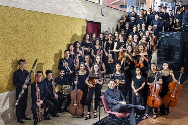 Joven Orquesta de Gran Canaria y Rafael Sánchez Araña