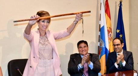 La alcaldesa de Mogán establece el reparto de áreas entre el nuevo grupo de Gobierno
